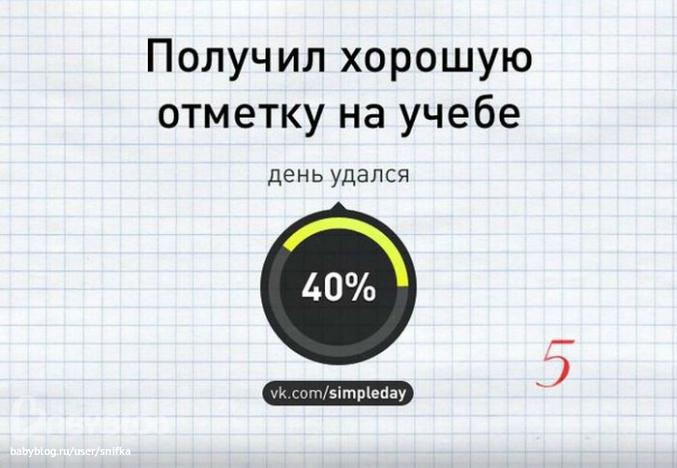 процент удачного эко
