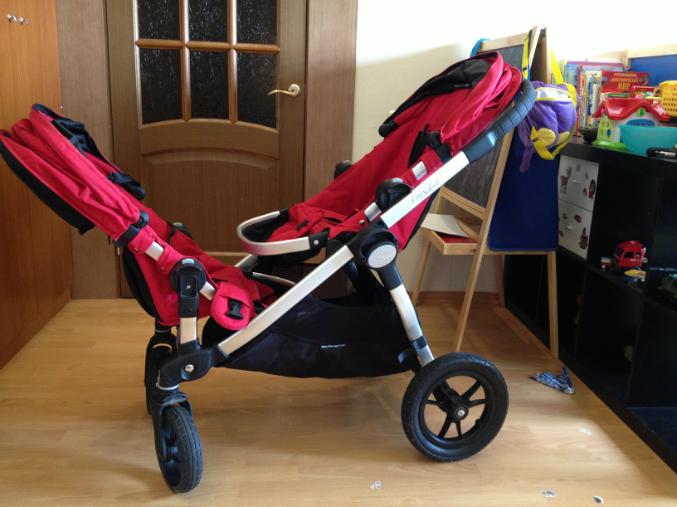 Baby jogger select коляска для погодок