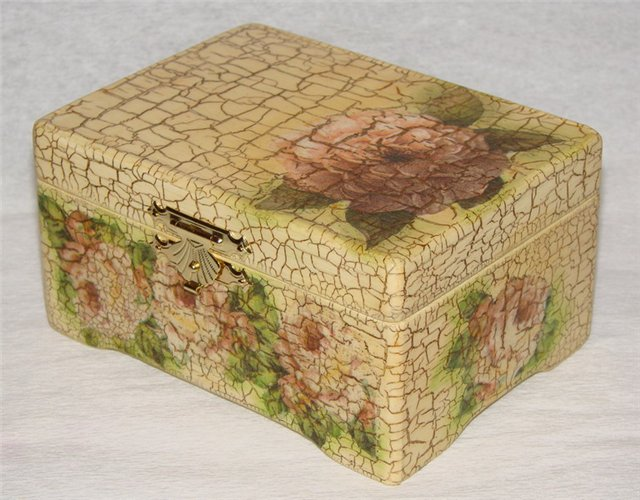 коробочка на мастер-класс в технике декупаж