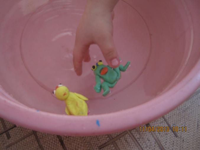 Пластилин плавающий своими руками