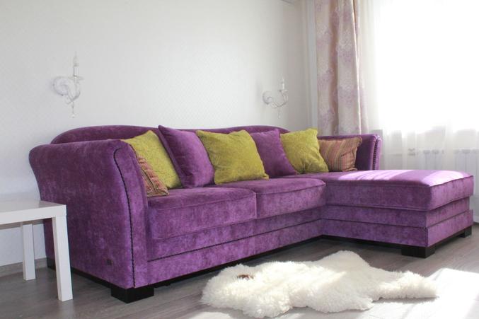 Фиолетовый Диван Москва