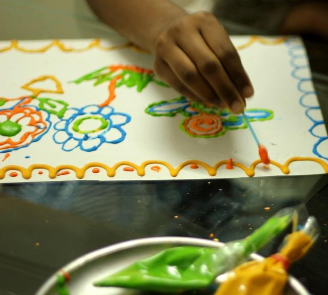 Как сделать объемные краски своими руками - Слайдшоу