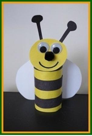 Как сделать из бумаги пчелу видео - Foto-lis.ru
