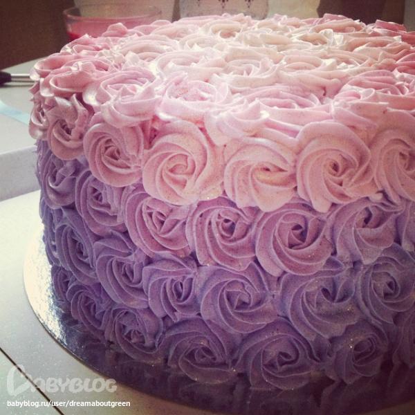 Фотогалерея свадебного торта