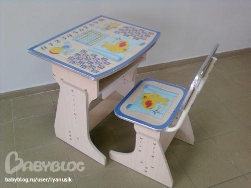 Своими руками столик для ребенка