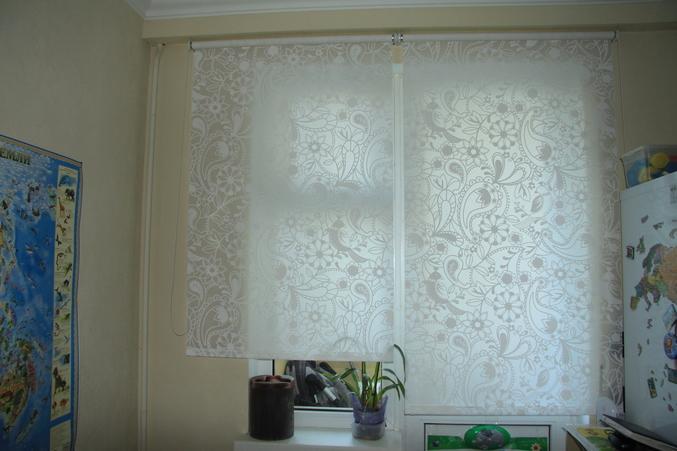 Рулонная штора лиселотт фото в интерьере