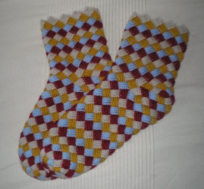 Мои первые носки Энтерлак.
