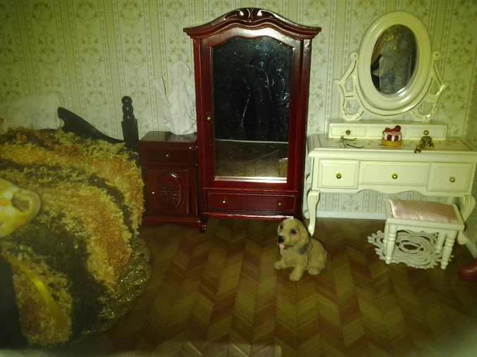 Мебель, куклы Хайди Отт, авторские фарфорочки 1:12. Обновление.