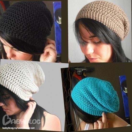 Как сделать вязанною шапку 57