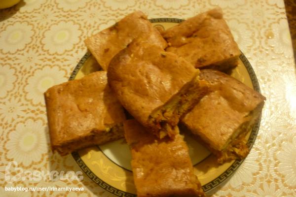 Рецепт теста без дрожжей для пирога с капустой