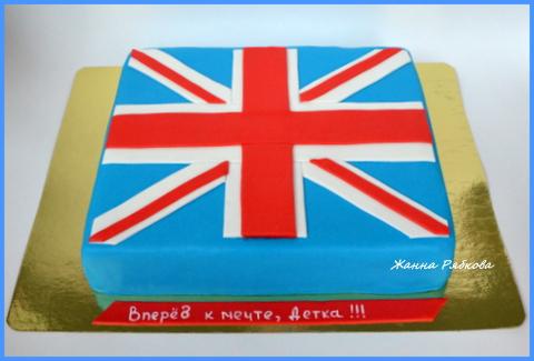 торт британский флаг рецепт