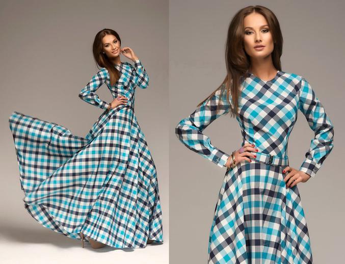 Сшить длинное платье в пол с рукавами 161