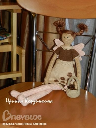 Кукла ириска крючком