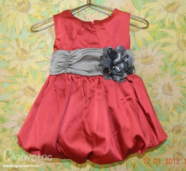 Детские платья на 7 месяцев