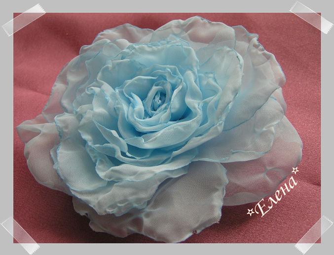 Розы своими руками из ткани мастер класс видео