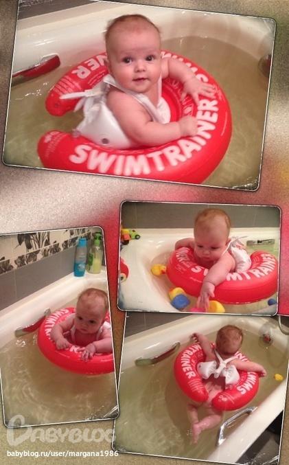 Это намного удобнее, чем детский спасательный жилет или обычный надувной круг для плавания. С таким помощником как swimtrainer вы спокойно.