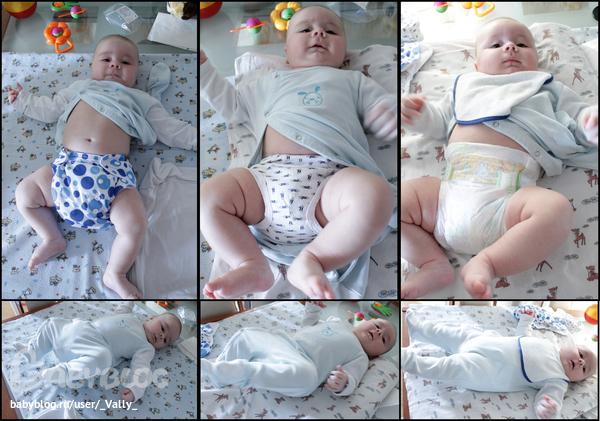 Как сделать подгузник из марли новорожденному 592