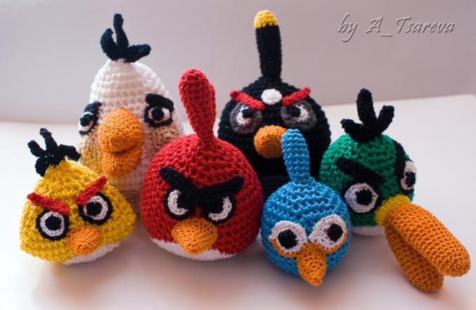 А вот и мои angry birds )))