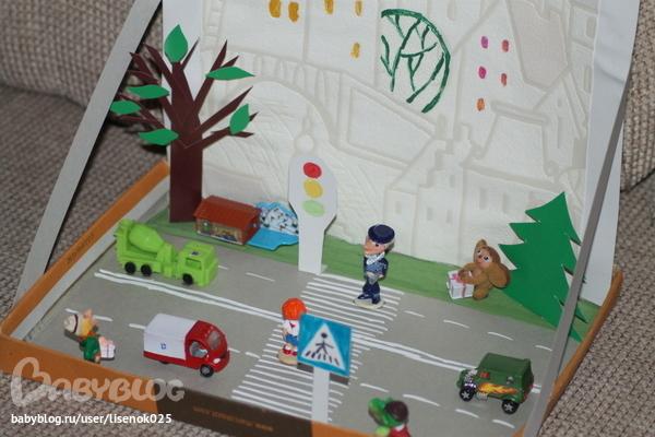 Поделки в садик дорожное движение
