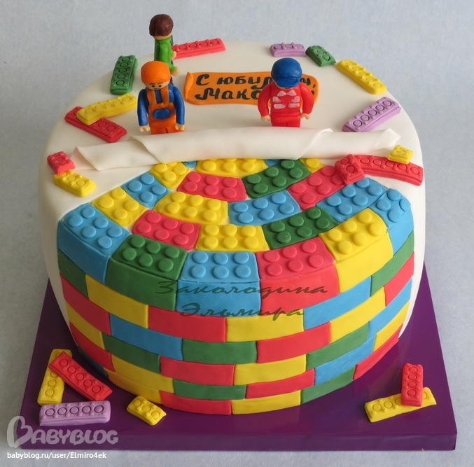 Лего как сделать торты 917