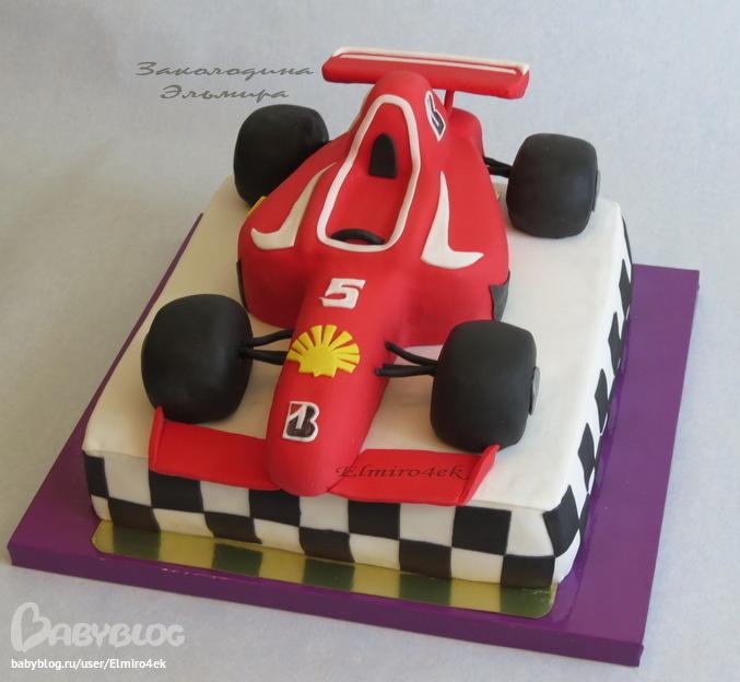 торт формула-1 фото