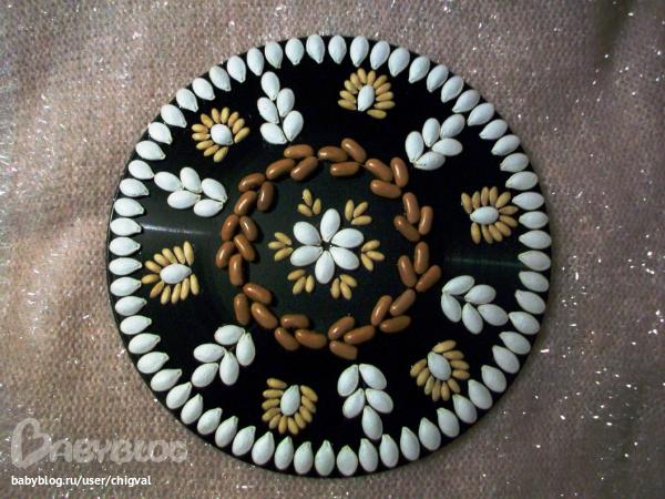 Поделки и картины из семян и круп своими руками