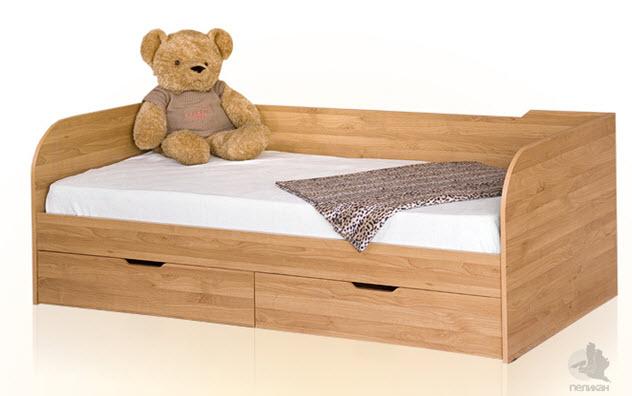 Кровать IKEA ЛЕКСВИК - деревянная   Отзывы