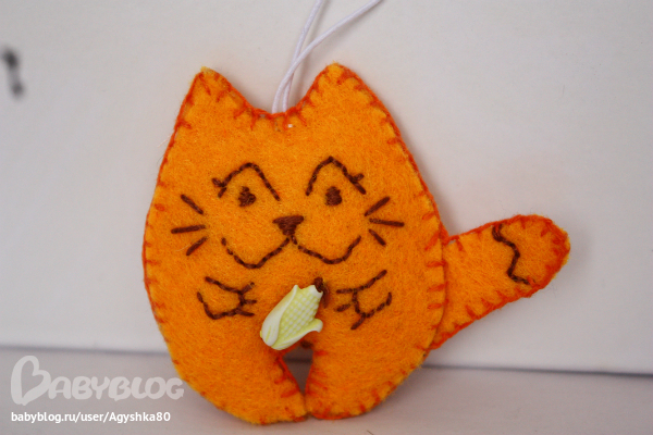 Котик из фетра своими руками фото 57
