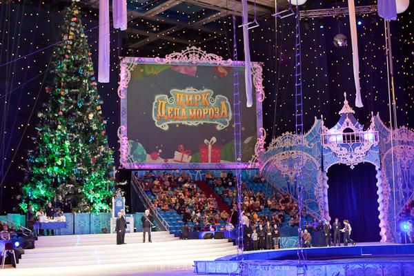 Цирк в олимпийском новый год