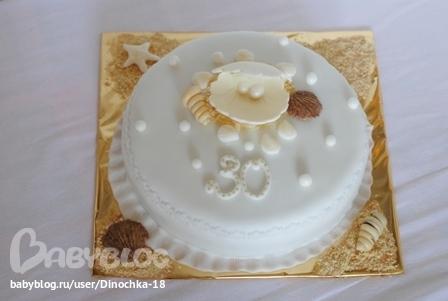 Торт на жемчужную свадьбу babyblog