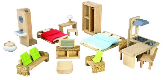Как сделать кукольную мебель для кукольного домика