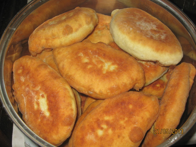 рецепт для пирожков на сковороде на дрожжах