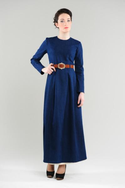 фото.длинные платья с длинными рукавами фото