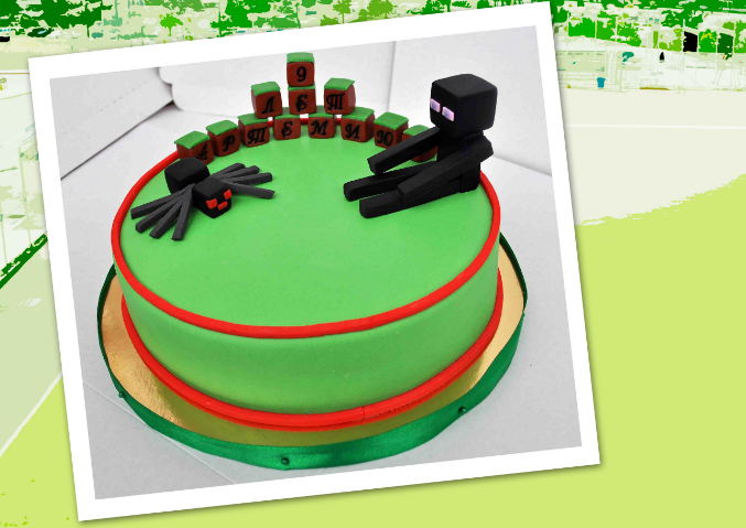 Торт для мальчика 9 лет