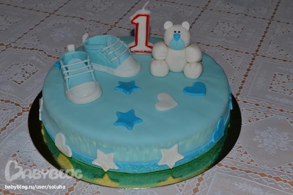 Торт на 1 годик рецепт с пошагово