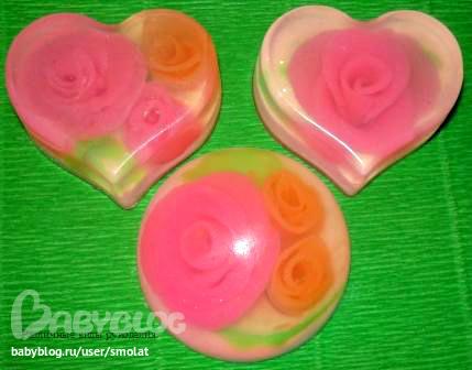 Как сделать мыло розовым