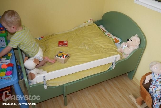 Детская кровать размеры матрасов