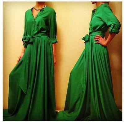 платья длинные в пол с рукавами фото
