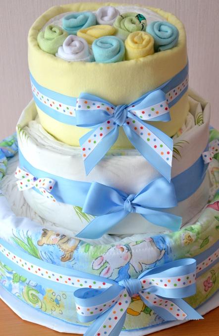 Торт из пеленок