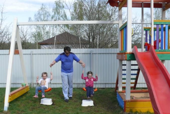 Детские уголок на даче своими руками фото