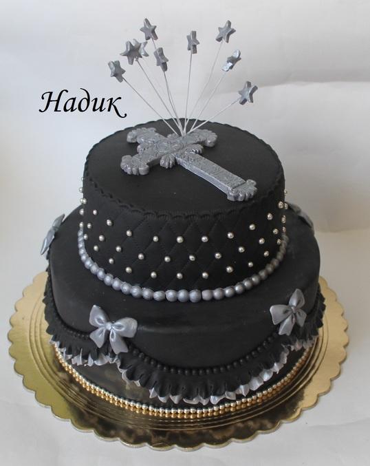 чёрный торт фото