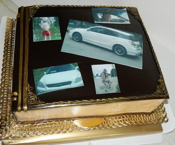 фотоальбомы торты