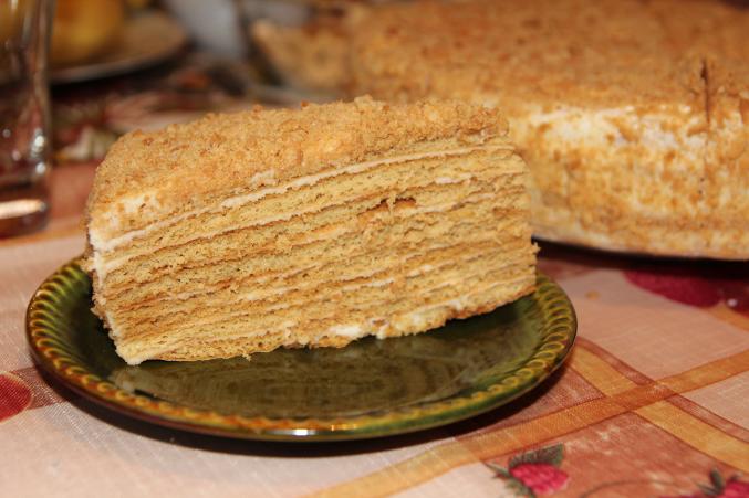 торт мадонна с готовых коржей рецепт с фото