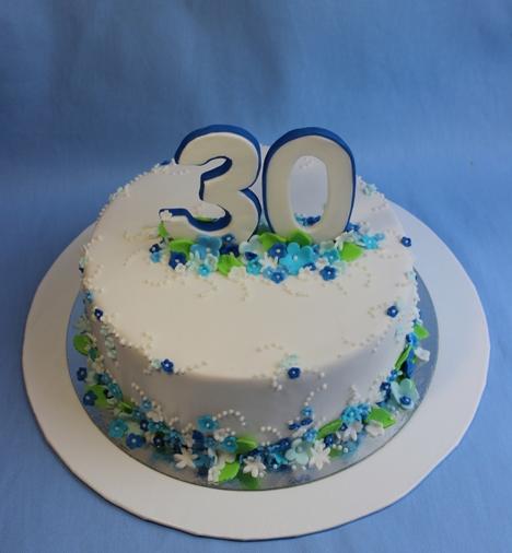 торт на 30 лет девушке из мастики фото