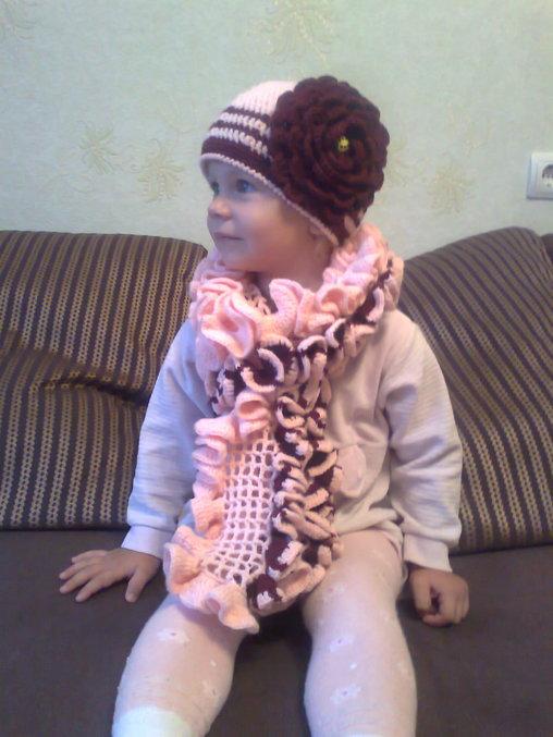 Чтобы шарфик интереснее
