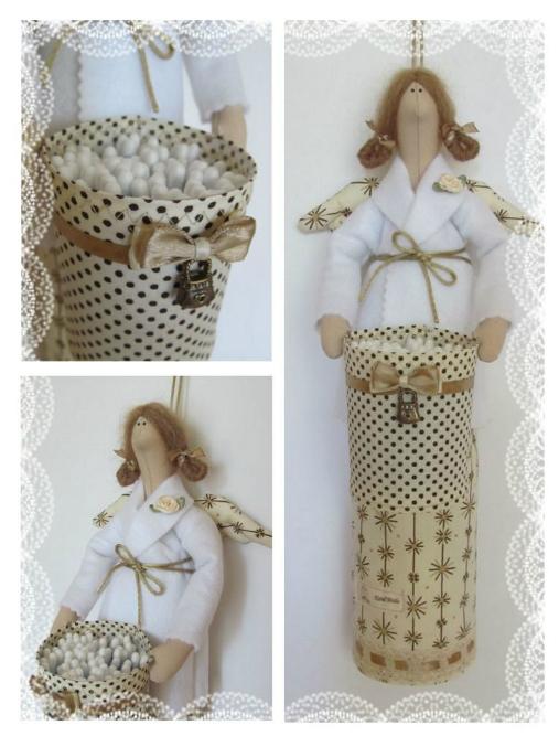 Ватные куклы своими руками