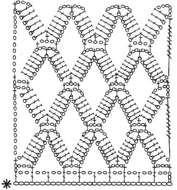 Крючок сетка вязание крючком