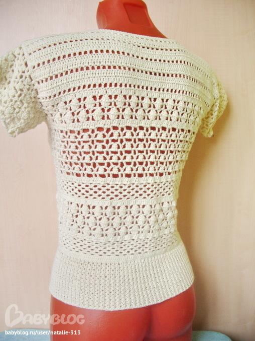 Вязание летних кофт из стран мам