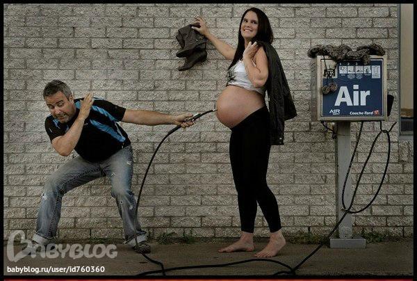 фото беременных по месяцам