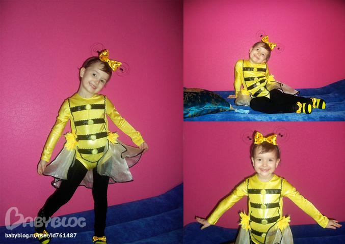 костюм пчелы шьем